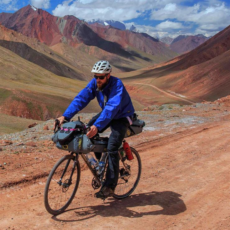 Ed Shoote's Tripster ATR in the Pamir Mountains