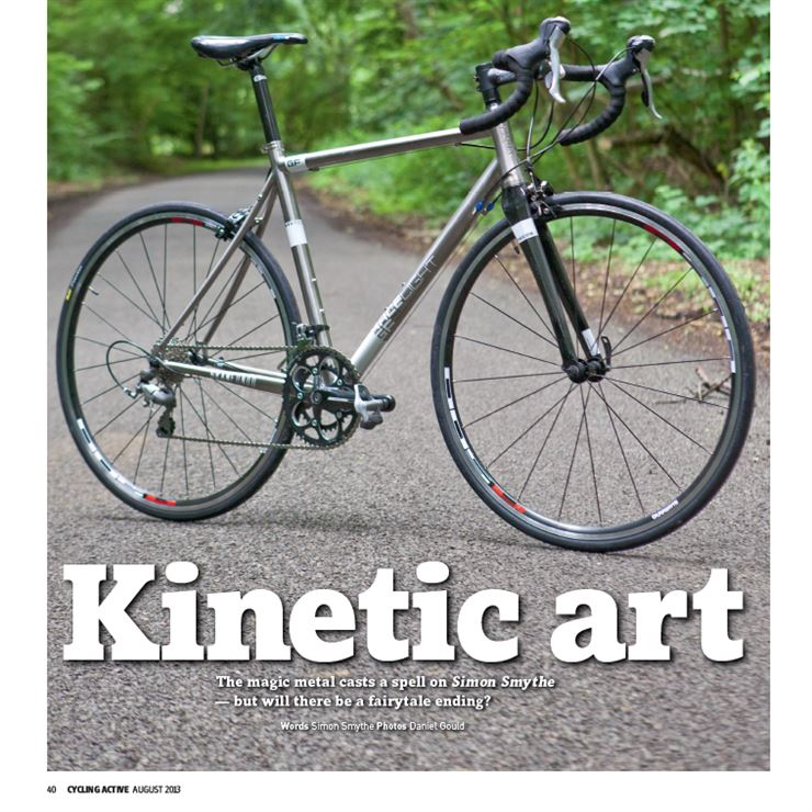 Racelight GF Ti Cycling Active Magazine Review