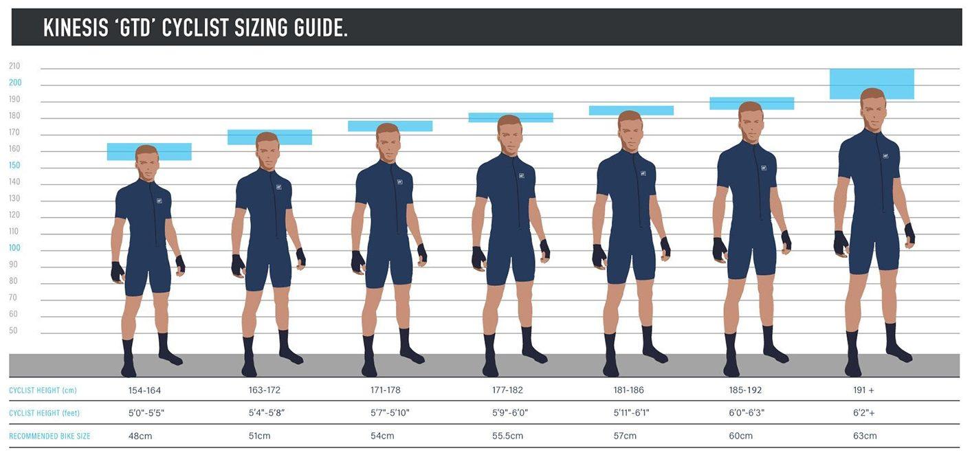 Kinesis GTD Size Guide
